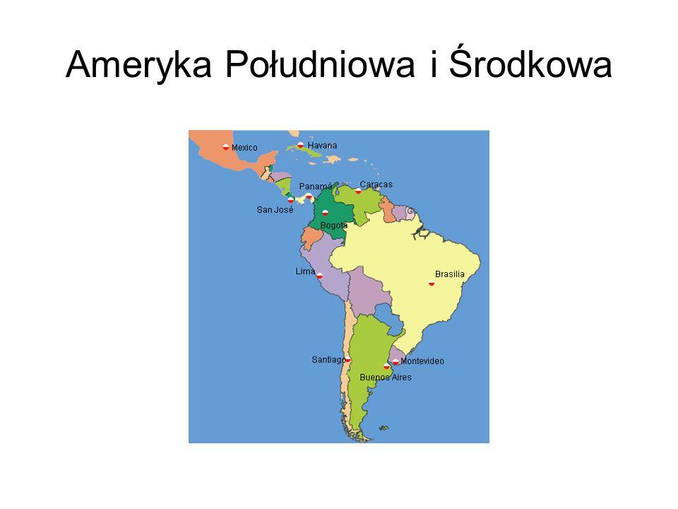 Ameryka Południowa i Środkowa