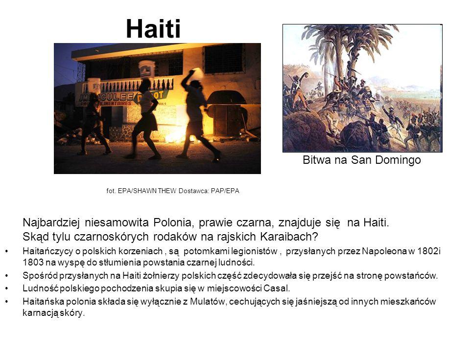 Haiti Najbardziej niesamowita Polonia, prawie czarna, znajduje się na Haiti.