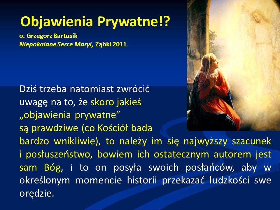 Objawienia Prywatne!. o.
