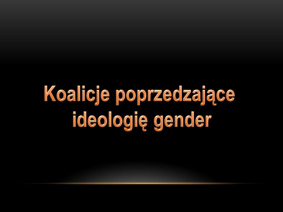 Dziś założenia ideologii gender funkcjonują oficjalnie w najróżniejszych obszarach i sektorach życia społecznego i mają zasięg globalny, są realizacją uzgodnień.