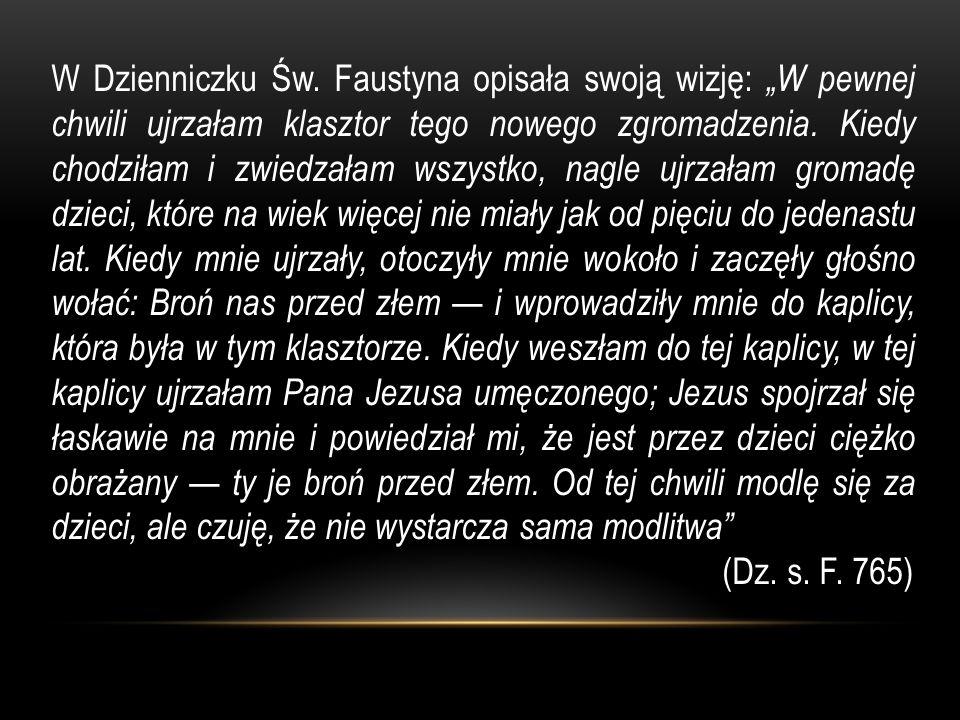 W Dzienniczku Św.