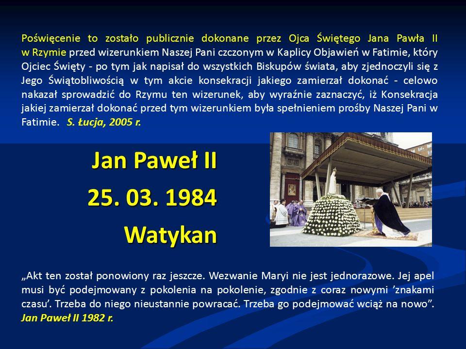 Jan Paweł II 25. 03.
