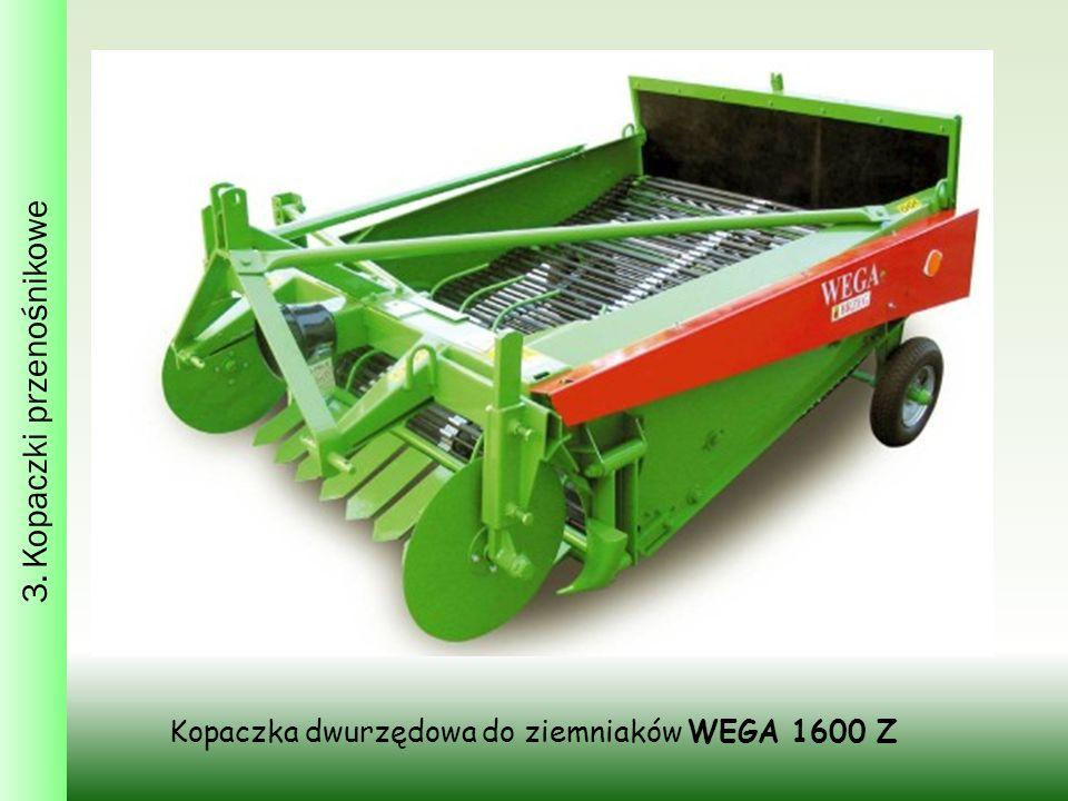Kopaczka dwurzędowa do ziemniaków WEGA 1600 Z 3. Kopaczki przenośnikowe