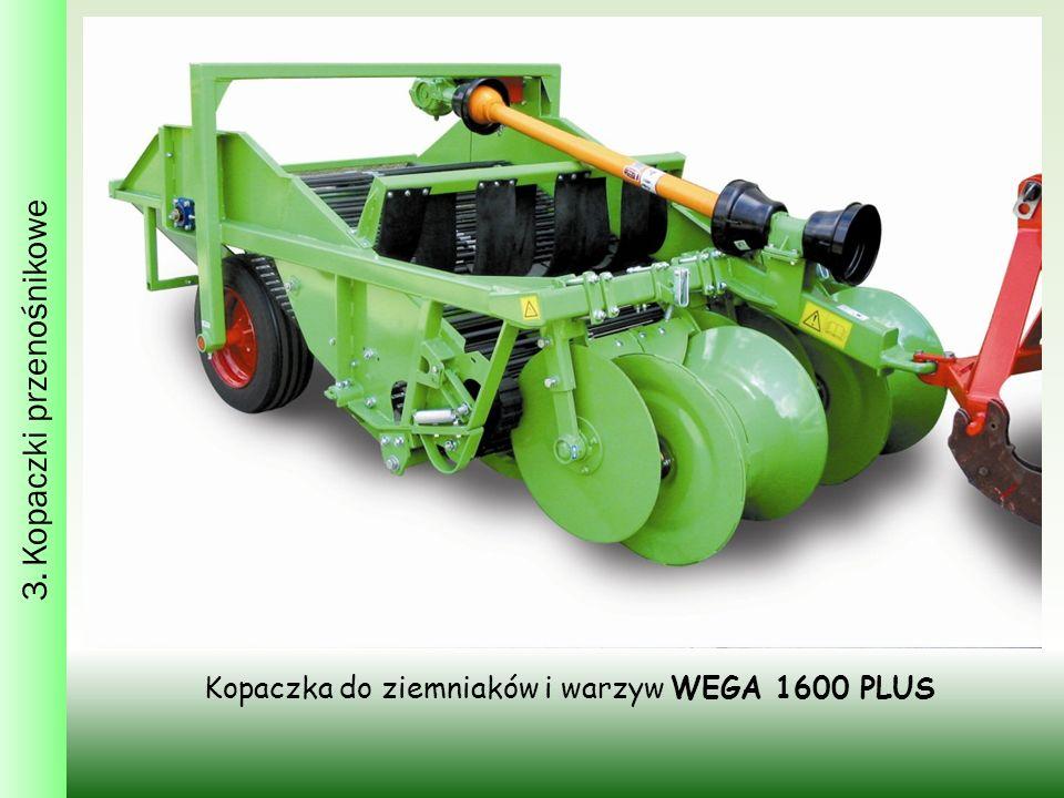Kopaczka do ziemniaków i warzyw WEGA 1600 PLUS 3. Kopaczki przenośnikowe