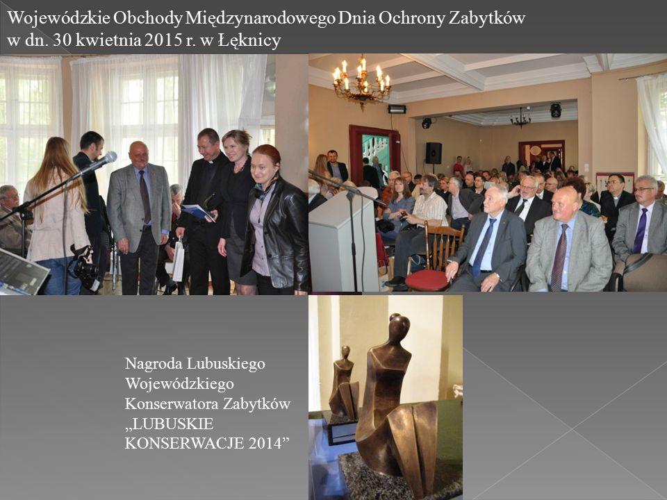Wojewódzkie Obchody Międzynarodowego Dnia Ochrony Zabytków w dn.