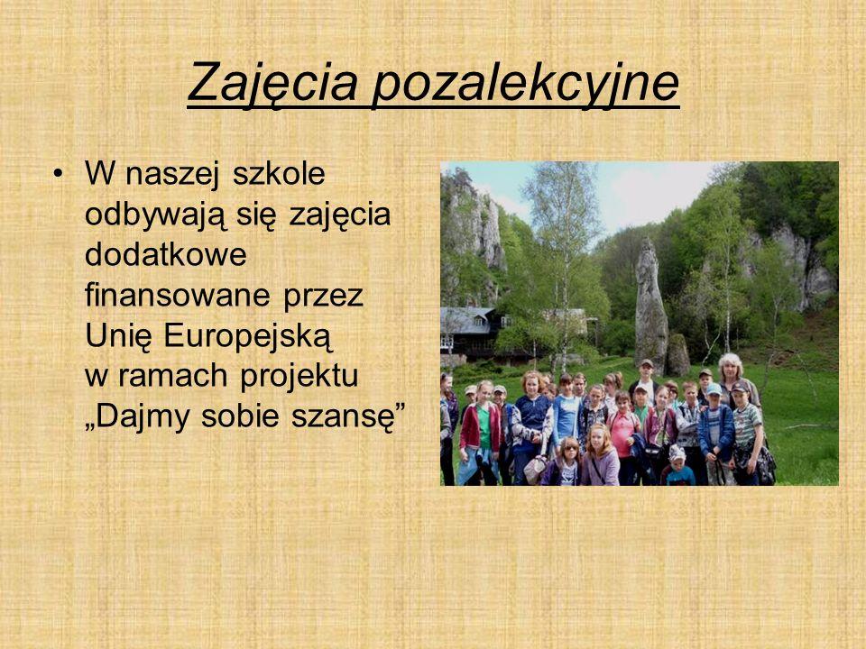 """Sport W naszej gminie działa klub """"SKS Jastrzębiec , który odnosi liczne sukcesy sportowe."""