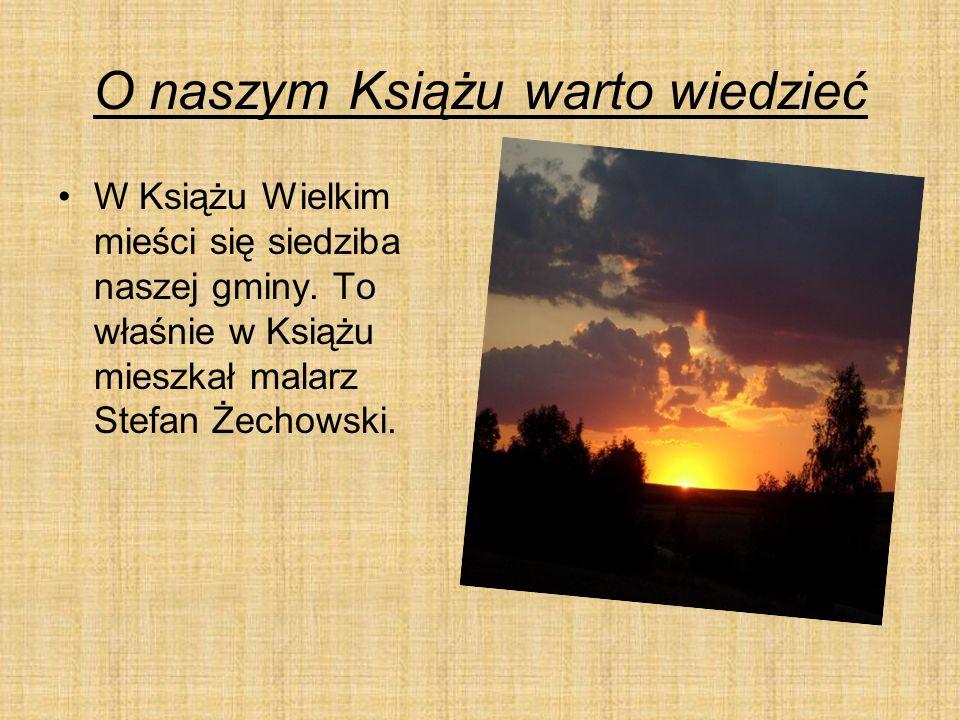 Nasz sławny malarz.Stefan Żechowski to sławny malarz.