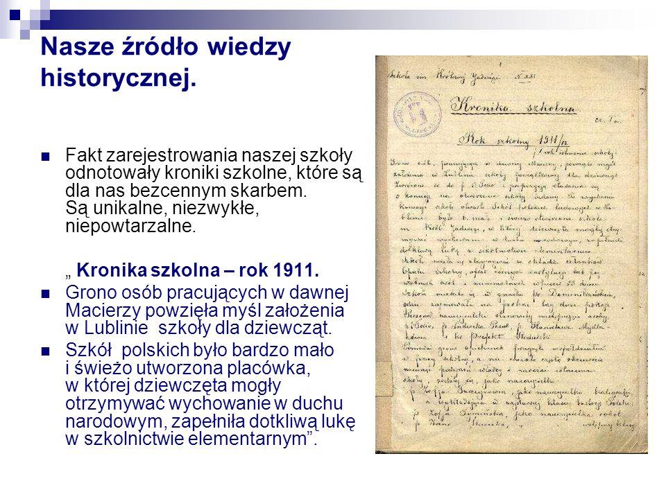 Nasze źródło wiedzy historycznej.