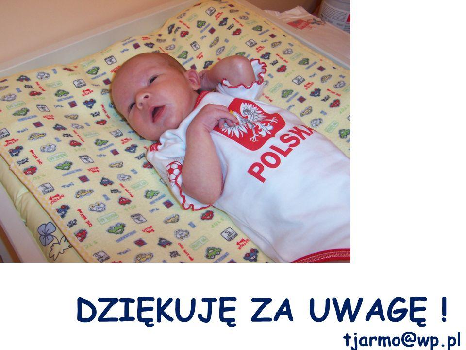 DZIĘKUJĘ ZA UWAGĘ ! tjarmo@wp.pl