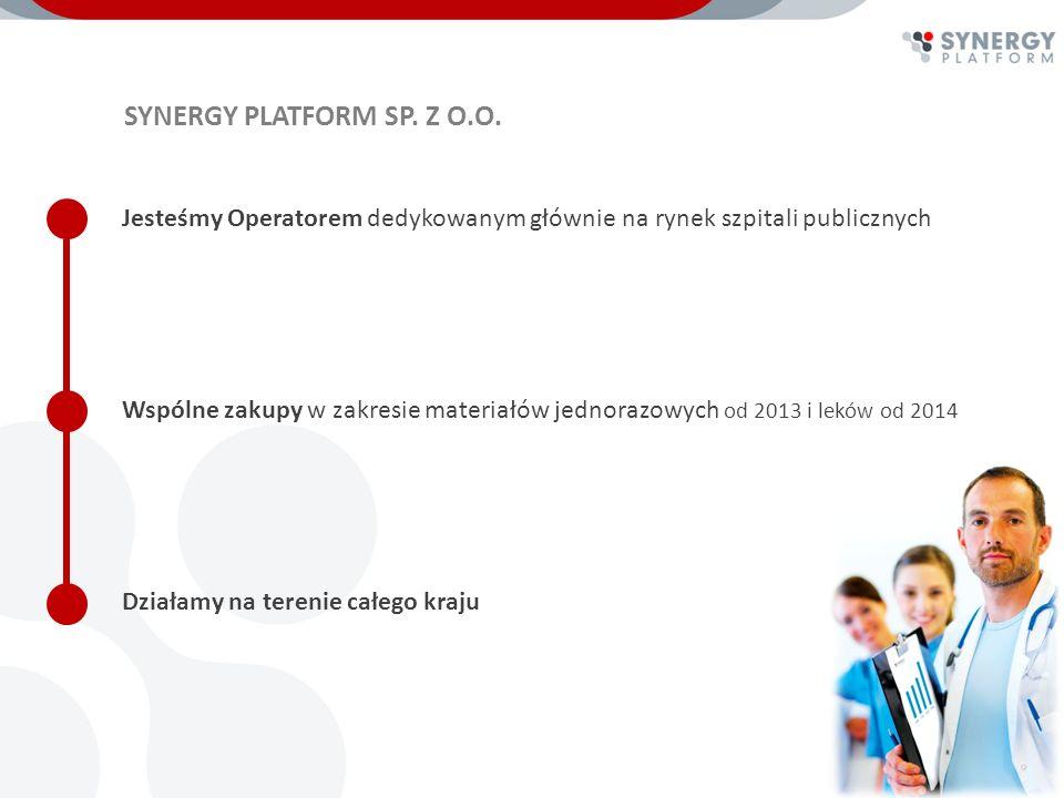 GDZIE JESTEŚMY I CO PLANUJEMY W chwili obecnej mamy 15 szpitali z różnych regionów Polski Przetargi i aukcje będą przeprowadzone na ponad 500 rodzajów asortymentu jednorazowego Rozstrzygnięcia wspólnych zamówień w październiku 2013 roku Od września 2013 roku będziemy organizować grupę zakupowa na leki Przygotowujemy nowe wspólne projekty oszczędnościowe