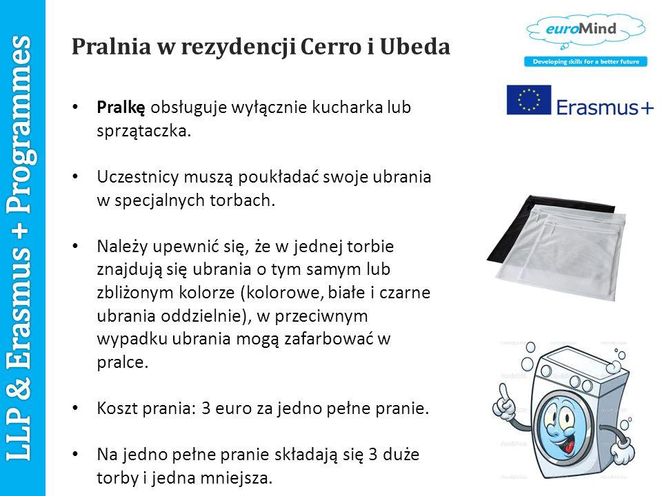 Pralnia w rezydencji Cerro i Ubeda Pralkę obsługuje wyłącznie kucharka lub sprzątaczka.