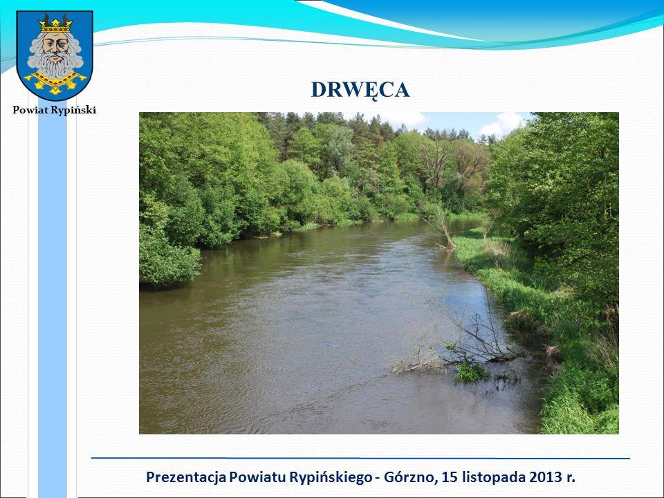Powiat Rypiński Prezentacja Powiatu Rypińskiego - Górzno, 15 listopada 2013 r. DRWĘCA