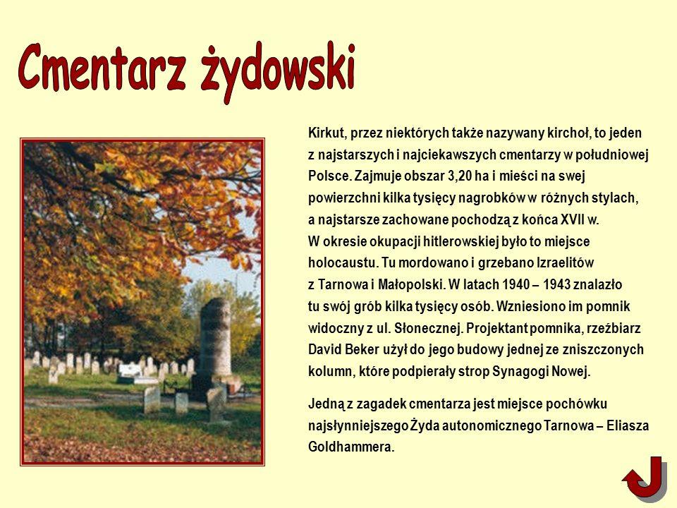 Kirkut, przez niektórych także nazywany kirchoł, to jeden z najstarszych i najciekawszych cmentarzy w południowej Polsce.