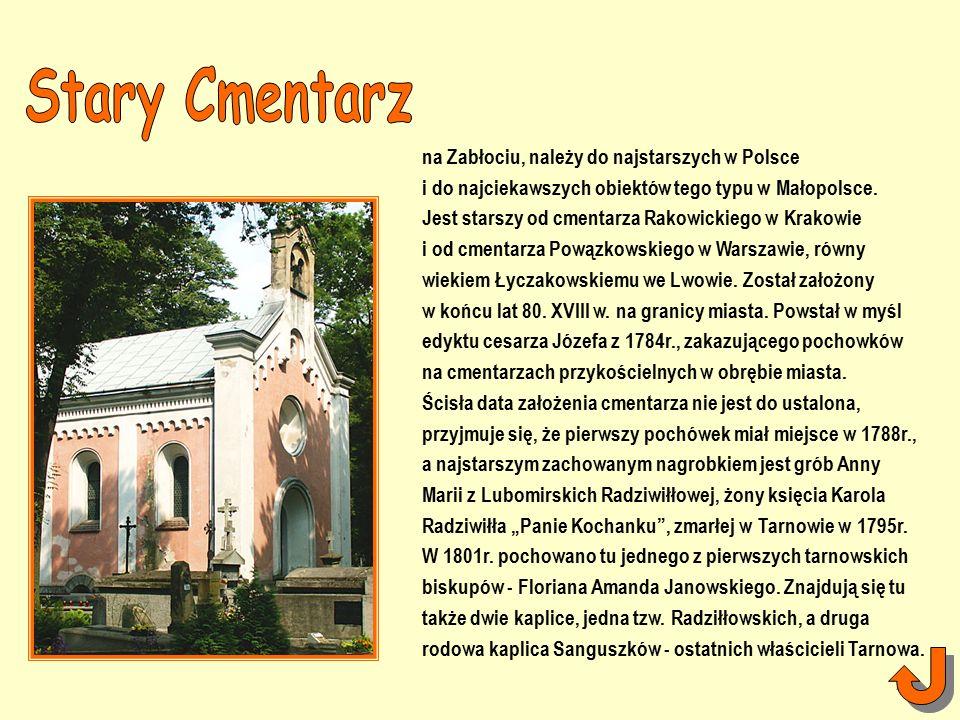 na Zabłociu, należy do najstarszych w Polsce i do najciekawszych obiektów tego typu w Małopolsce.
