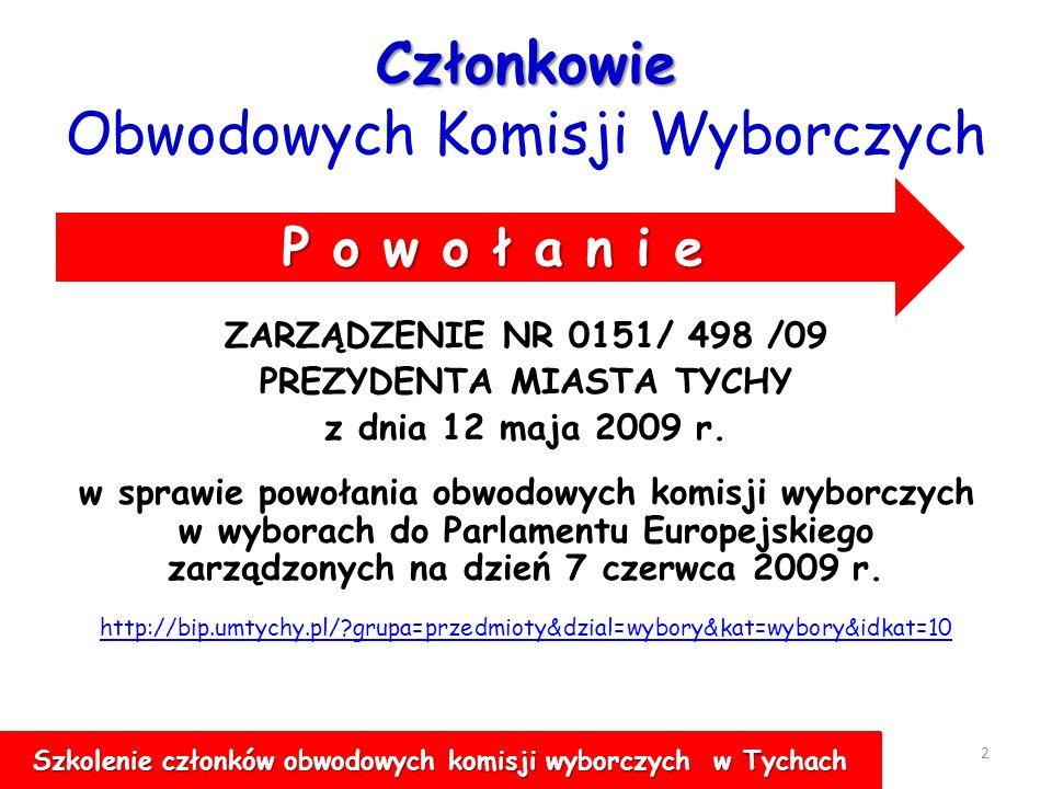 WYBORY POSŁÓW DO EUROPARLAMENTU 1 7 CZERWCA 2009 R.