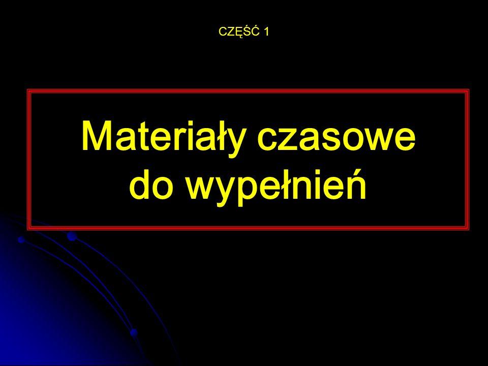 Materiały podkładowe CZĘŚĆ 2