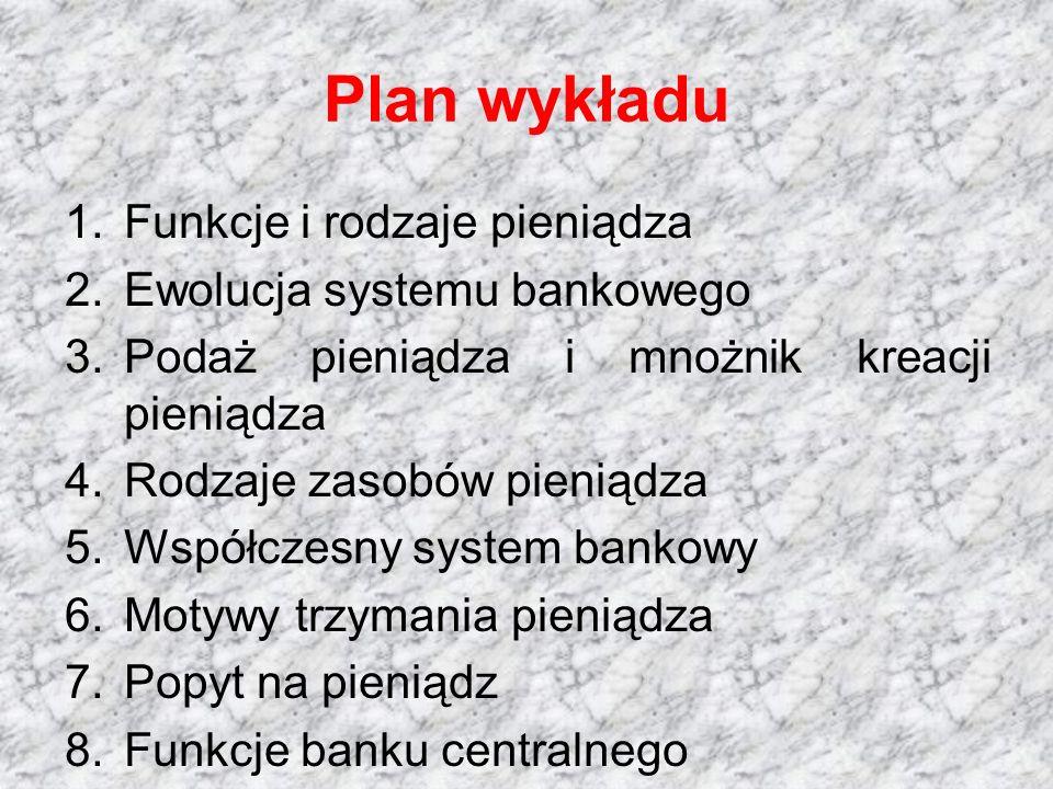 W tabeli znajduje się bilans banku.