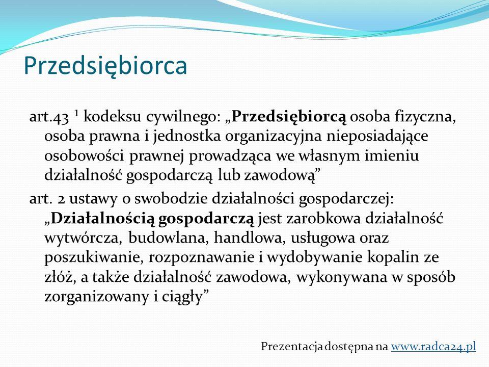 """Prezentacja dostępna na www.radca24.pl Przykłady klauzul abuzywnych stosowanych przez Banki Przykładowe postanowienie umowne: """"Kredytobiorca jest zobowiązany do (…) umożliwienia Bankowi kontroli wykorzystania i spłaty kredytu, w szczególności udostępniania nieruchomości – przedmiotu kredytowania w celu dokonania inspekcji prowadzonych robót budowlanych oraz stanu nieruchomości – przedmiotu zabezpieczenia do czasu spłaty wszystkich zobowiązań z tytułu kredytu."""