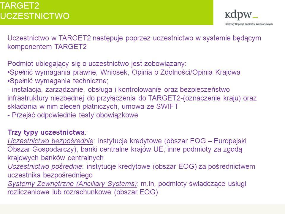 """Procedura rozrachunkowa 2 – rozrachunek transakcji brutto rozrachunek odbywa się bez pośrednictwa rachunku technicznego KDPW wszystkie zlecenia płatnicze składane przez KDPW za pośrednictwem ASI uważa się za """"bardzo pilne wszystkie zlecenia płatnicze składane przez KDPW za pośrednictwem ASI są składane pojedynczo w formie odpowiednich komunikatów xml zlecenia płatnicze składane przez KDPW za pośrednictwem ASI powodują przemieszczenie środków pomiędzy rachunkami RTGS banków rozrachunkowych (płatników) składanie zleceń płatniczych przez KDPW za pośrednictwem ASI następuje w godzinach 7.00 – 18.00 w każdej instrukcji obciążającej rachunek RTGS banku stosuje się mechanizm """"till , który wskazuje czas, do którego powinna nastąpić realizacja zlecenia TARGET2 KDPW NA SSP T2"""