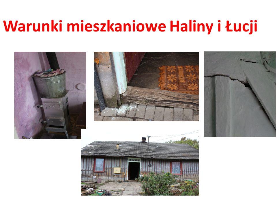 Warunki mieszkaniowe Haliny i Łucji