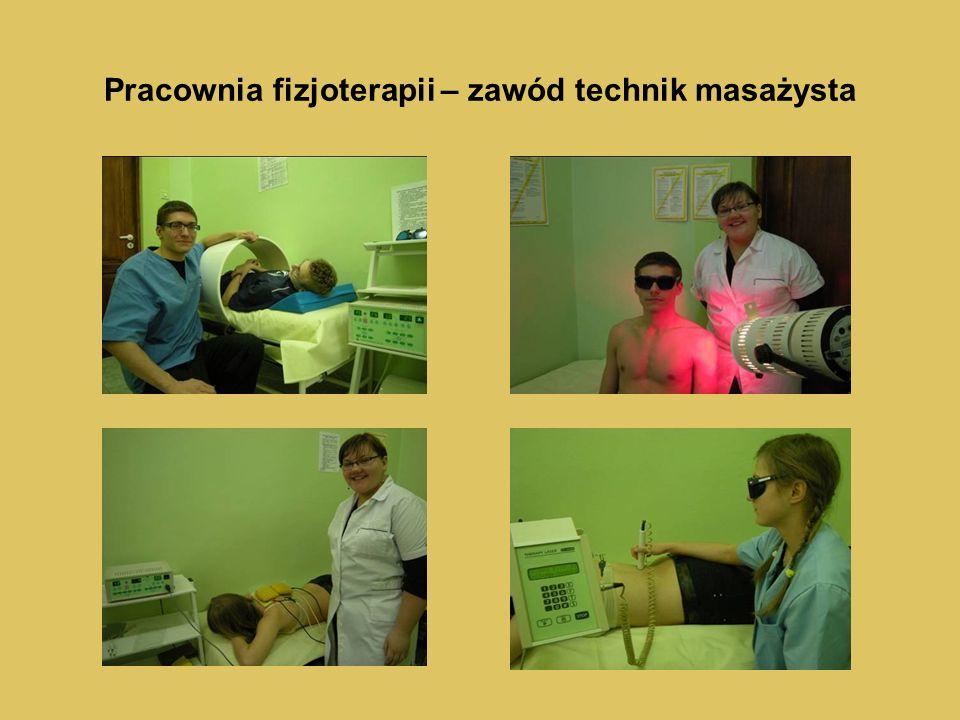 Pracownia fizjoterapii – zawód technik masażysta