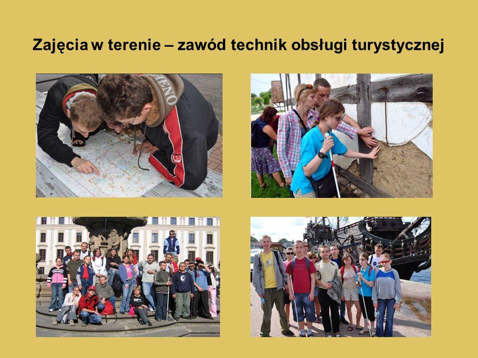 Zajęcia w terenie – zawód technik obsługi turystycznej