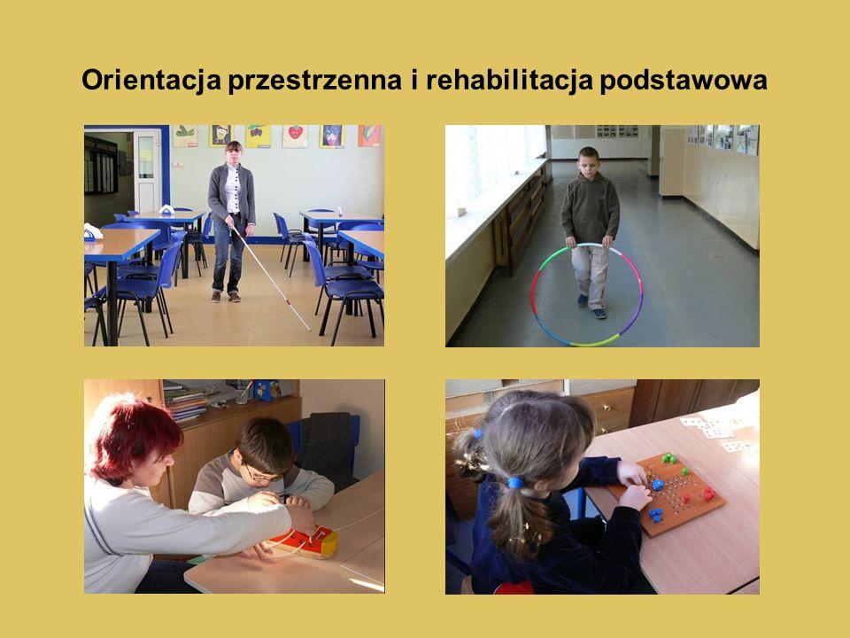 Orientacja przestrzenna i rehabilitacja podstawowa