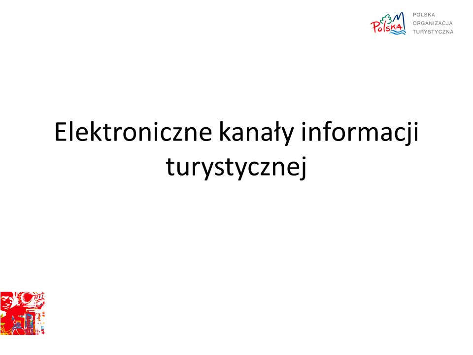 Elektroniczne kanały informacji turystycznej