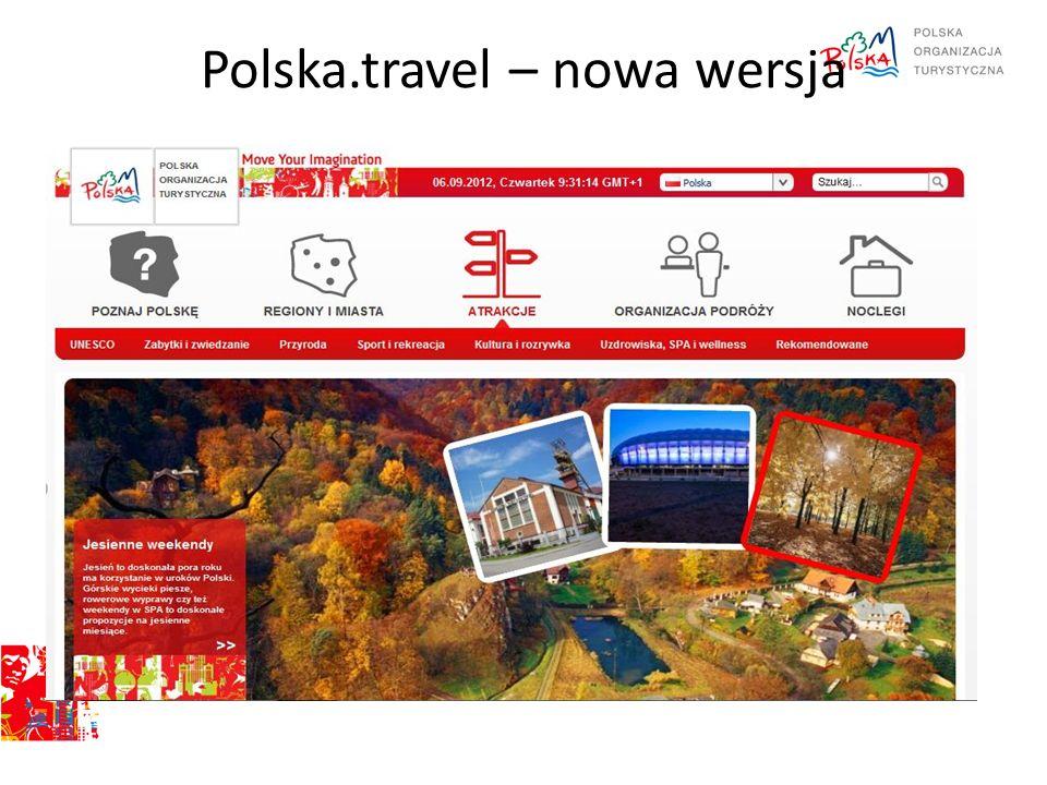 Polska.travel – nowa wersja