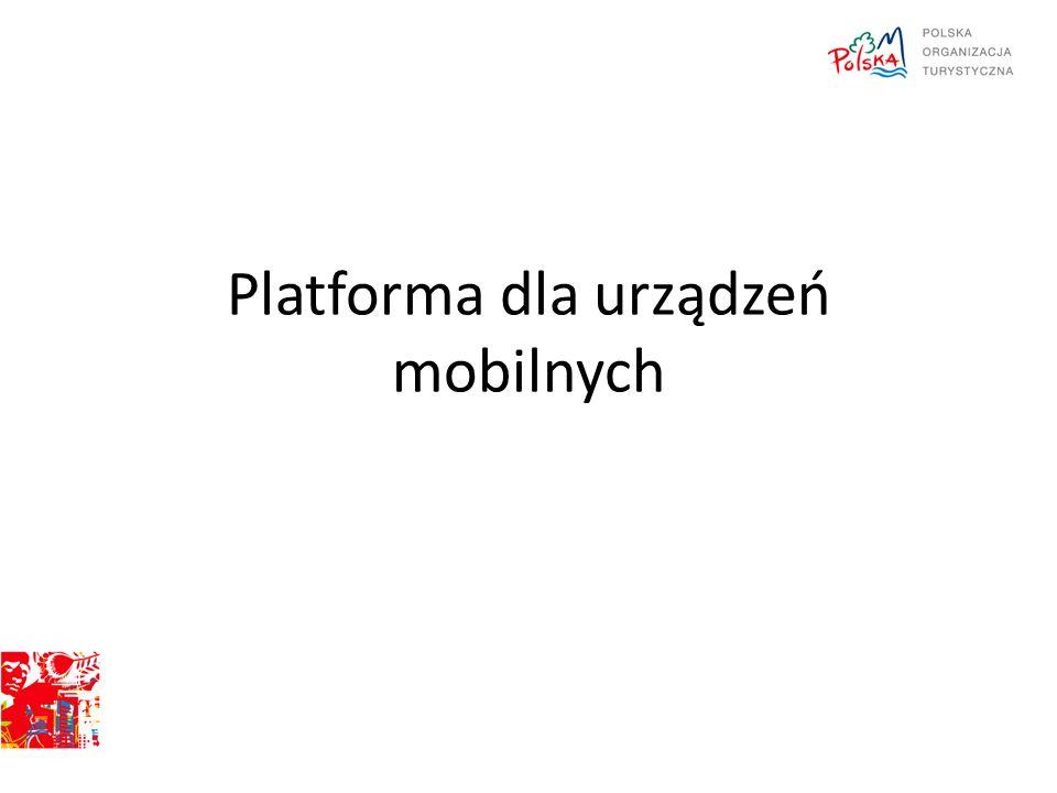 Platforma dla urządzeń mobilnych
