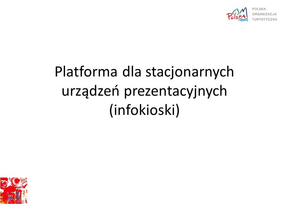 Platforma dla stacjonarnych urządzeń prezentacyjnych (infokioski)