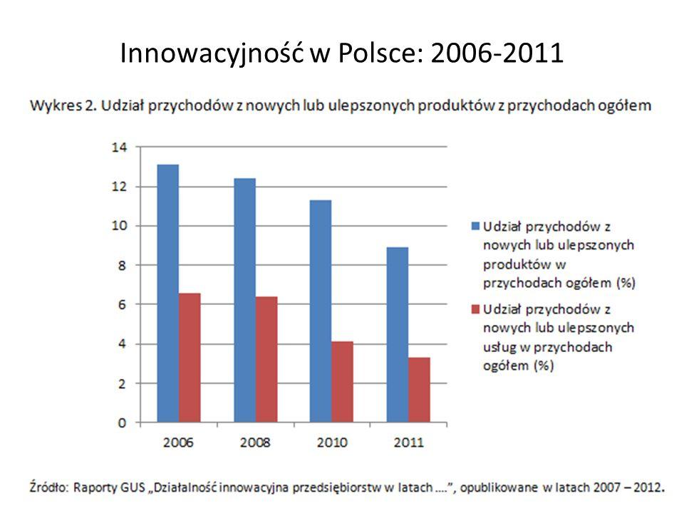 Innowacyjność w Polsce: 2006-2011 17