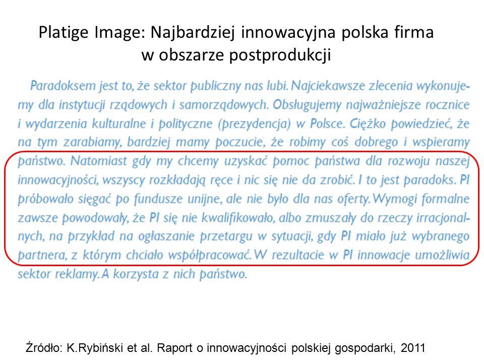 Platige Image: Najbardziej innowacyjna polska firma w obszarze postprodukcji