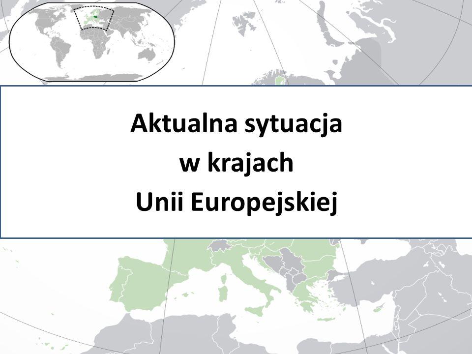 Aktualna sytuacja w krajach Unii Europejskiej