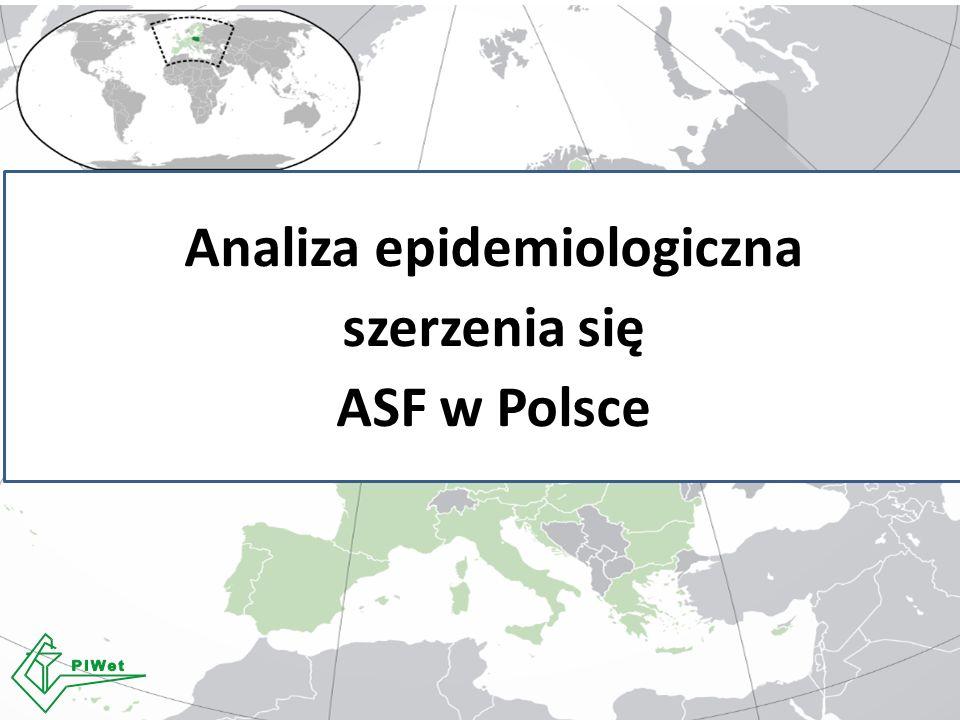 Analiza epidemiologiczna szerzenia się ASF w Polsce