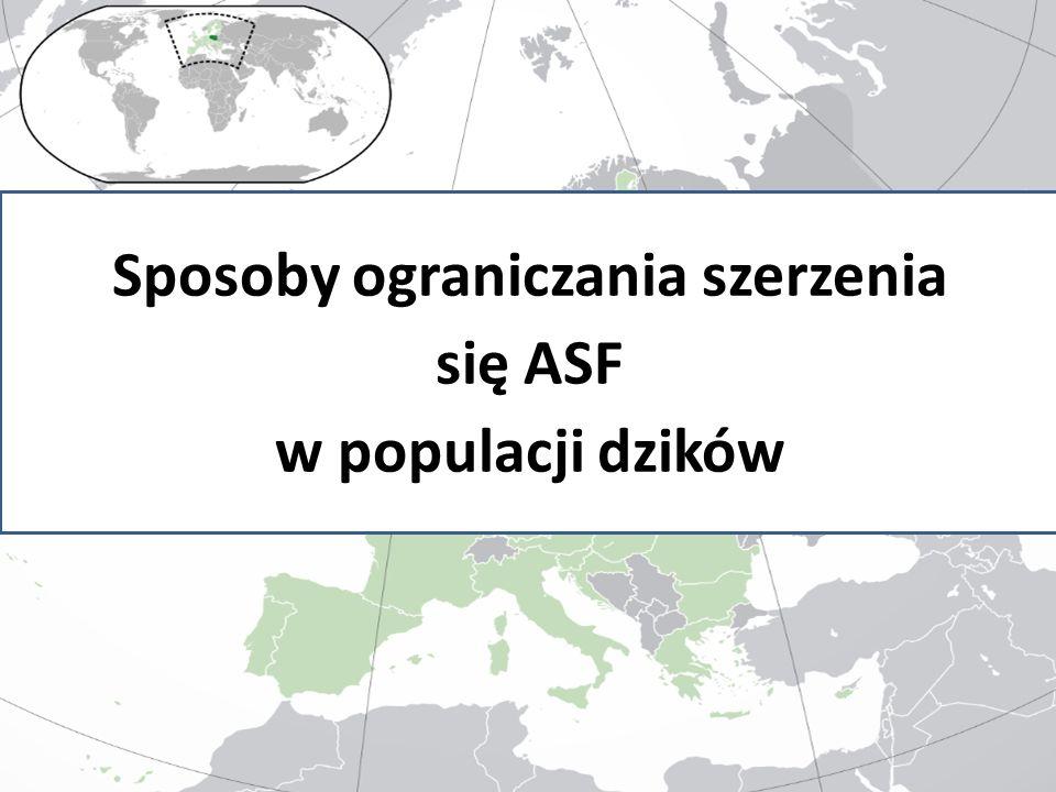 Sposoby ograniczania szerzenia się ASF w populacji dzików