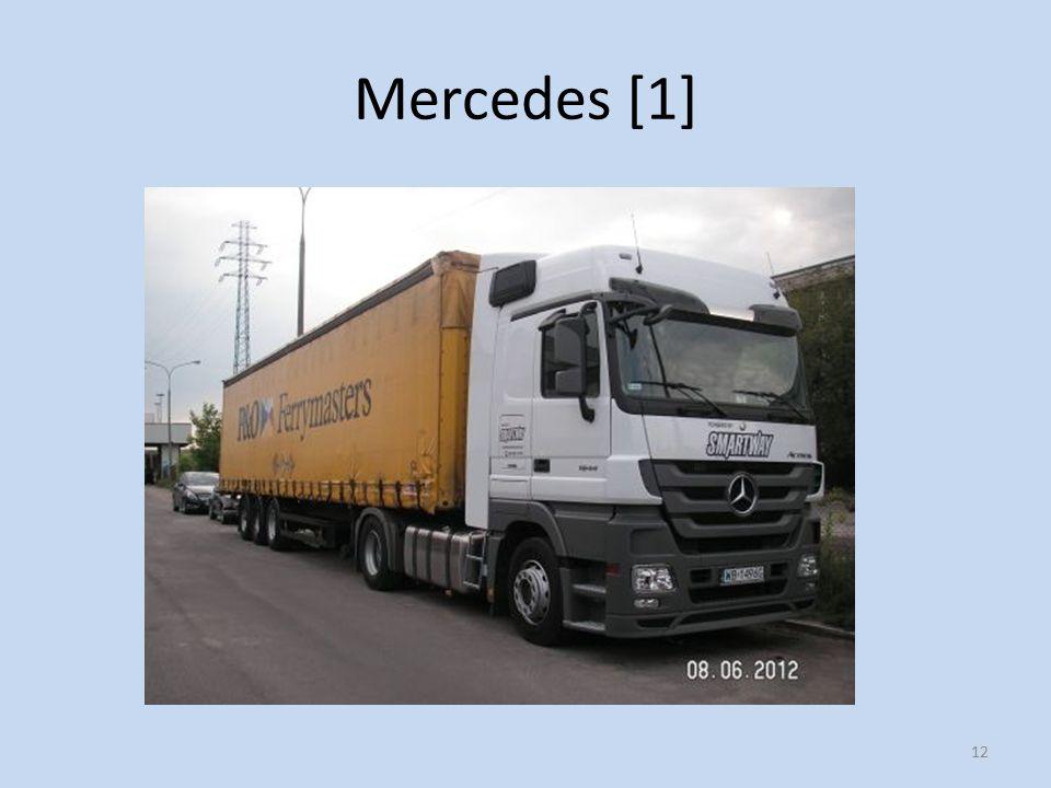 Mercedes [1] 12