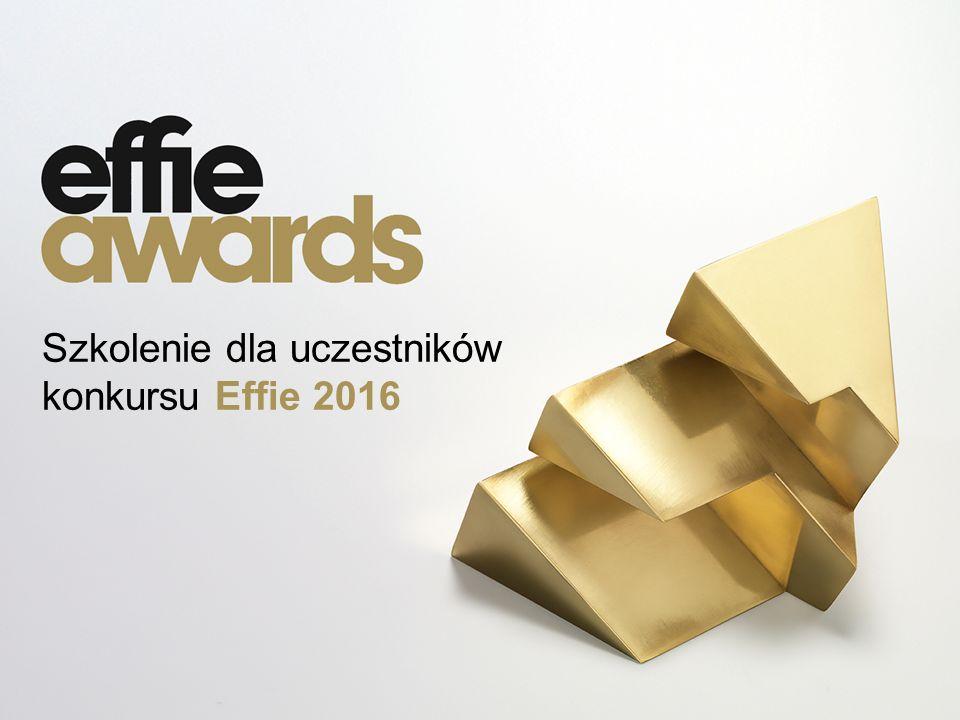 Szkolenie dla uczestników konkursu Effie 2016