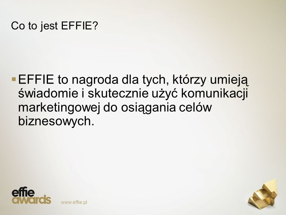 Co to jest EFFIE.