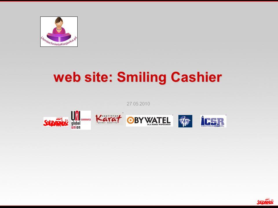 web site: Smiling Cashier 27.05.2010