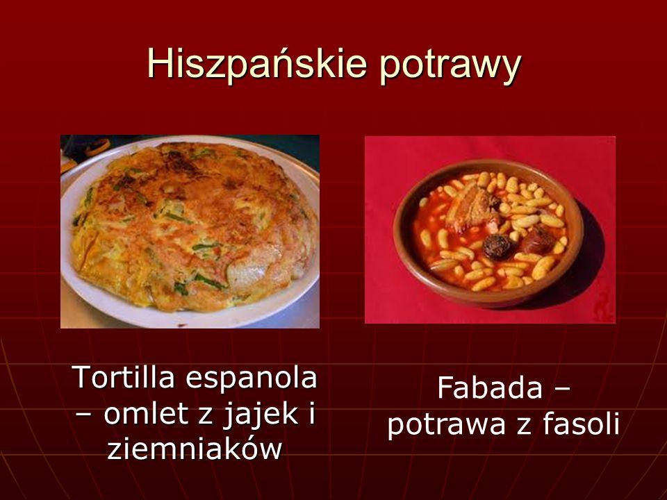 Hiszpańskie potrawy Pallea – jednogarnkowa potrawa z ryżu Pallea – jednogarnkowa potrawa z ryżu Gaspacho – zupa na bazie pomidorów