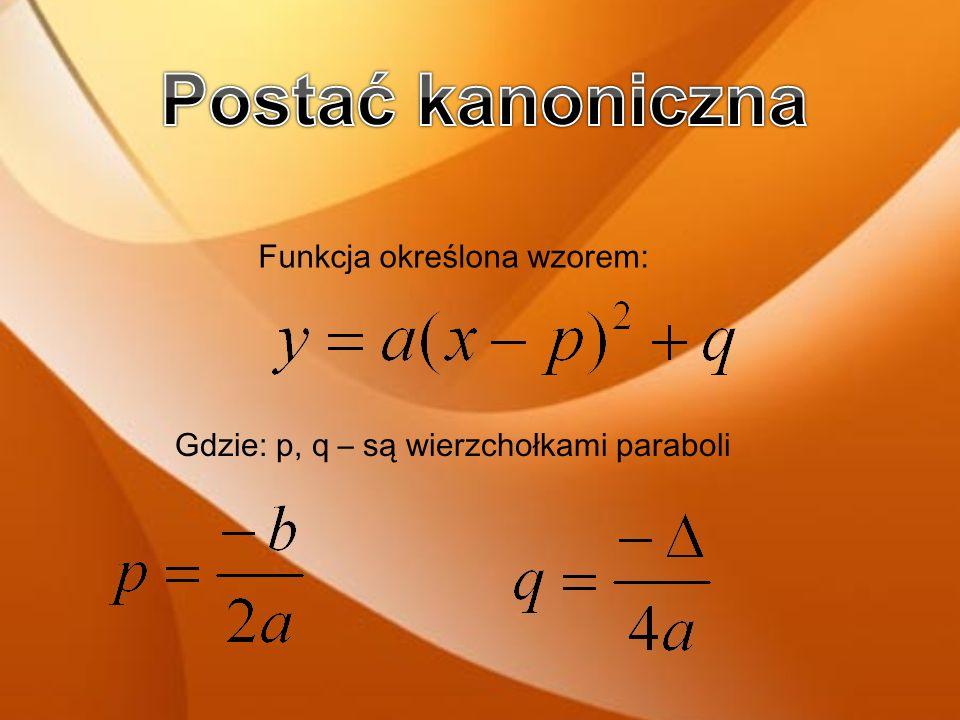 Funkcje kwadratową używamy do zapisu zmian statystycznych dotyczących: - zmiany kursów walut -notowań giełdowych -Inflacji -Bezrobocia itp.