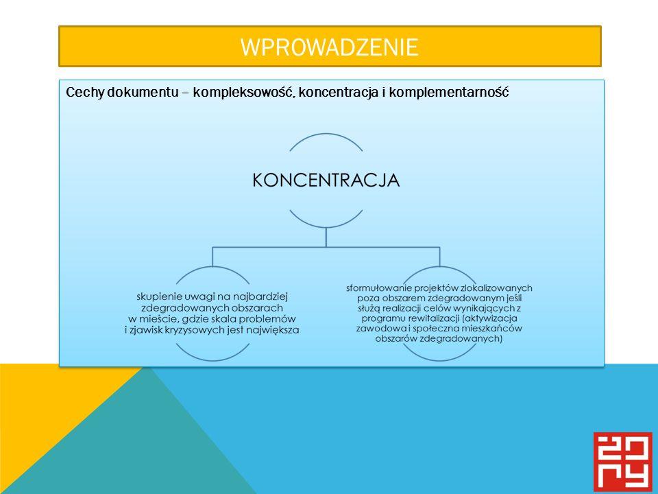 WPROWADZENIE Cechy dokumentu – kompleksowość, koncentracja i komplementarność