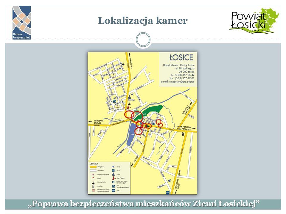 Lokalizacja kamer