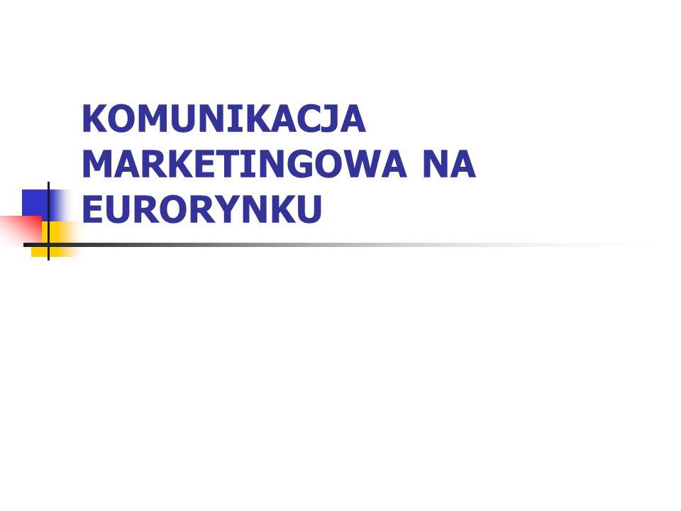 KOMUNIKACJA MARKETINGOWA NA EURORYNKU