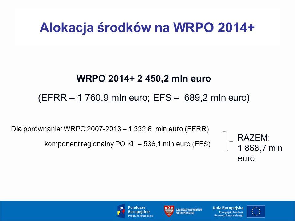 13 Działanie 1.3 Wsparcie przedsiębiorczości i infrastruktury na rzecz rozwoju gospodarczego (alokacja 43,5 mln €) Typy projektów: zapewnienie przedsiębiorstwom w początkowej fazie działalności usług potrzebnych do funkcjonowania przedsiębiorstwa (w tym np.: udostępnienie infrastruktury, usługi prawne i księgowe, doradztwo) oraz wsparcie inwestycyjne na zakup środków trwałych i wartości niematerialnych i prawnych, rozwój potencjału i poprawa jakości usług oraz infrastruktury instytucji otoczenia biznesu na rzecz inkubacji przedsiębiorstw, w tym dla regionalnych inteligentnych specjalizacji, kompleksowe tworzenie nowej i rozwój istniejącej infrastruktury na rzecz rozwoju gospodarczego (w tym dla regionalnych specjalizacji) w szczególności na nieużytkach, zlokalizowanych w pobliżu inwestycji transportowych (autostrady, drogi szybkiego ruchu, linii kolejowe), terenach zdegradowanych, wymagających rewitalizacji.