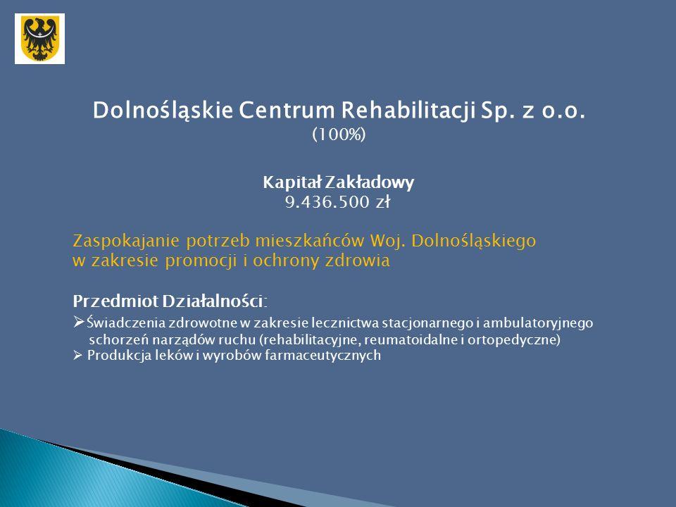 Dolnośląskie Centrum Rehabilitacji Sp. z o.o.