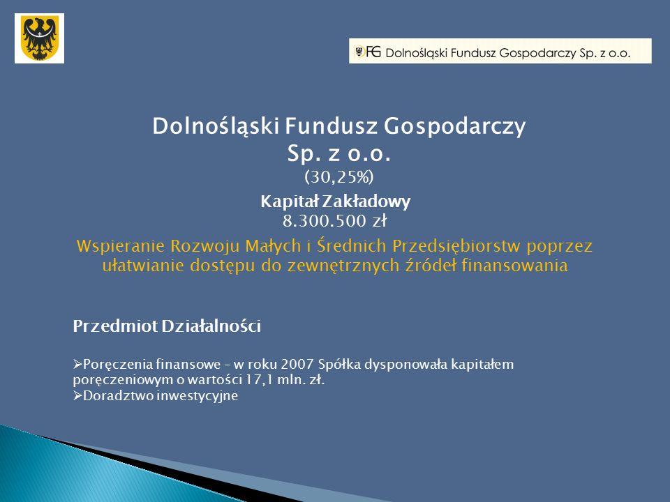 Dolnośląski Fundusz Gospodarczy Sp. z o.o.