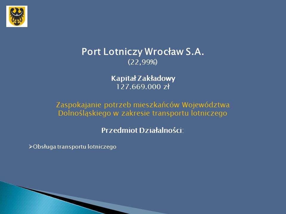 Port Lotniczy Wrocław S.A.