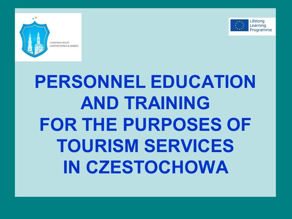 PROJEKTY REALIZOWANE NA POZIOMIE ZAWODOWYM I ŚREDNIM Częstochowskie szkoły kształcące uczniów dla obsługi ruchu turystycznego realizują szereg projektów, podnoszących jakość zdobytej wiedzy dla przyszłej obsługi turystów.